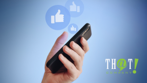 Content Marketing Tip | Person Sharing Review on Phone