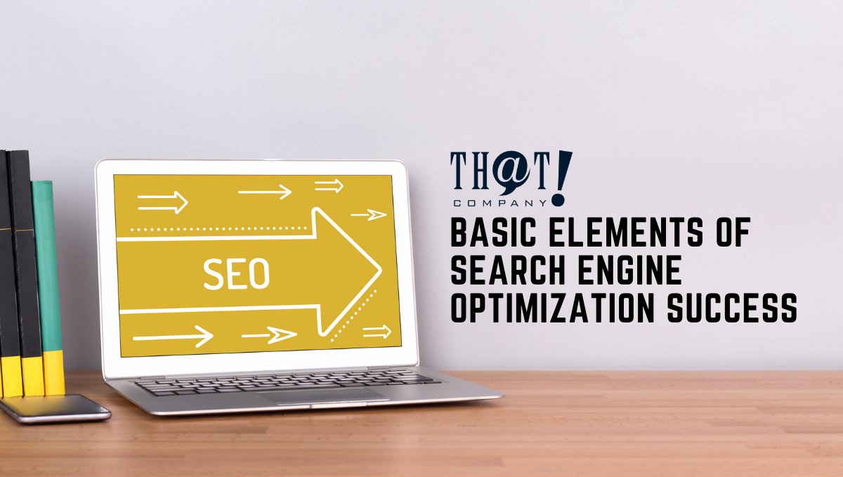 Basic Elements of Search Engine Optimization Success | A Workspace with laptop and Books