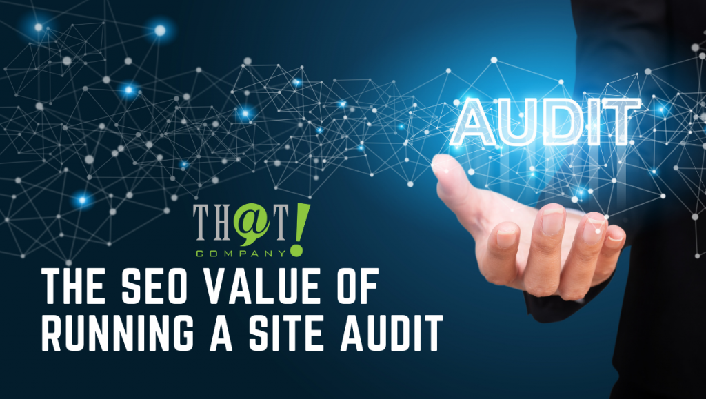 SEO Value of Site Audits | Hand Holding Special Effect