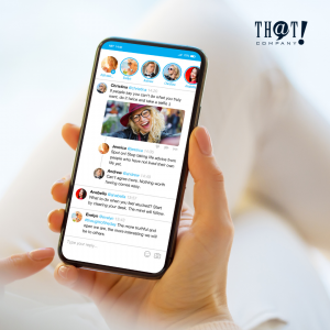 Marketing Using Twitter | A Hand Holding A Phone Showing A Twitter Application