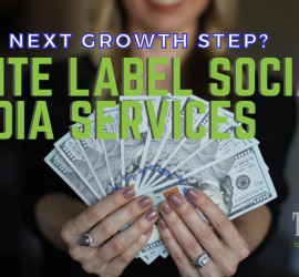 White Label Social Media Services | A Girl Holding A Money