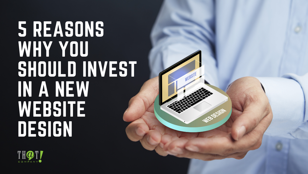 Invest In Web Design   A Hand Holding A Hologram Laptop Icon With Web Tabs in the Screen
