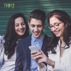 Learn What Your Users Want   A Group of Friend Browsing on a Phone