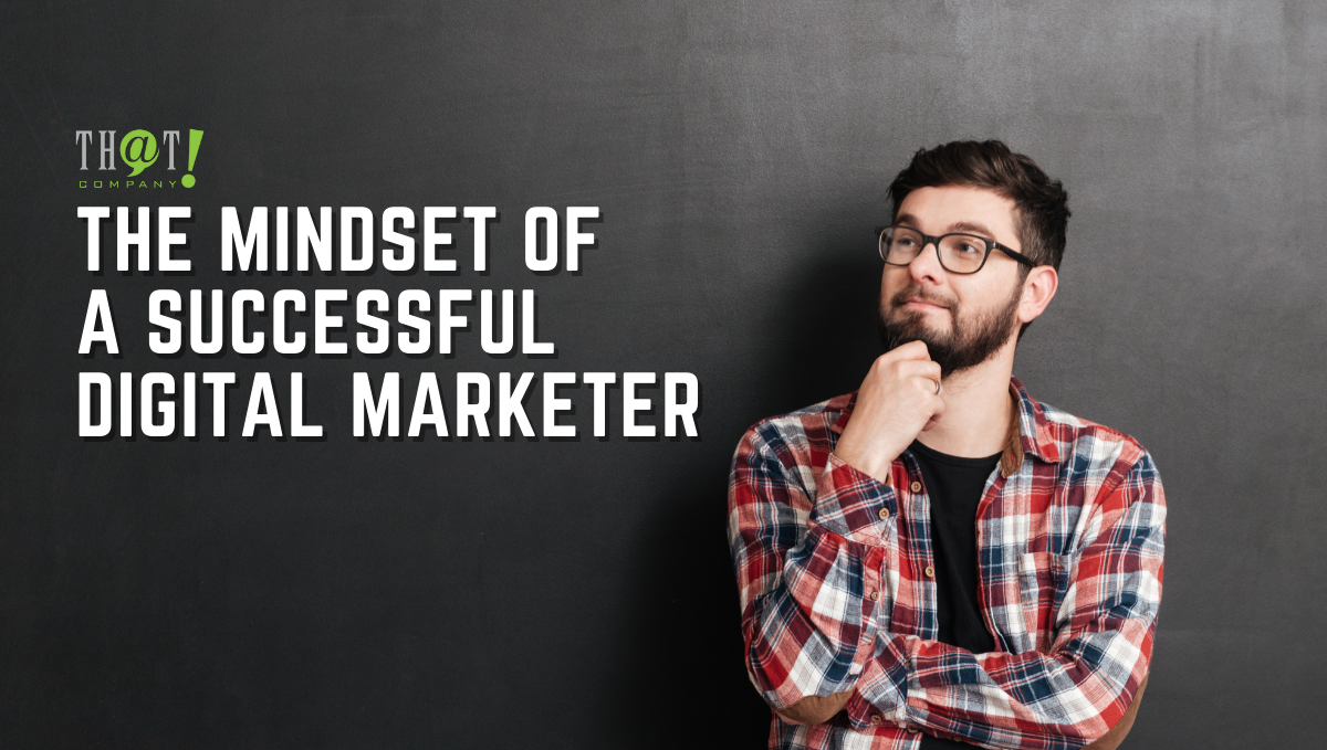 The Mindset of a Successful Digital Marketer   A Boy Holding His Chin and Looks Like Thinking