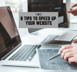 Speed Up Your Website | People In Front of a Laptop and Desktop Looking at Some Codes for Web Development