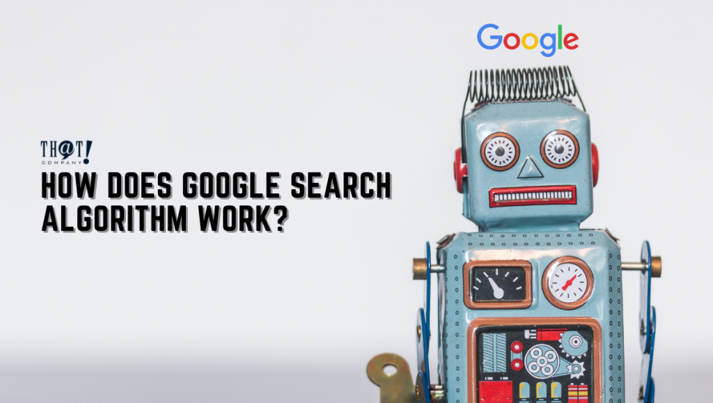 Google Search Algorithm | A Robot With A Google Logo on its Head
