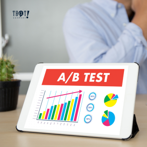 How to Interpret A/B Testing Results? | A Presentation of A/B Testing With Graphs and A Man Sitting On The Background