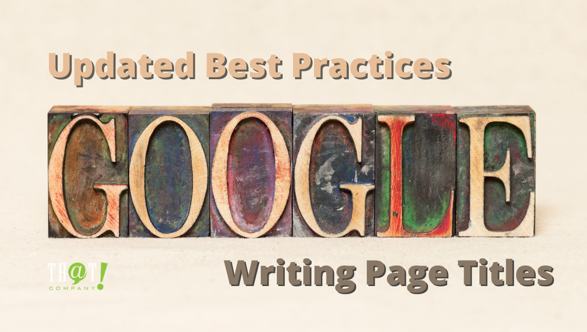 Googles Updated SEO Page Title Best Practices Featured