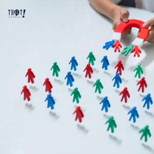 Target Audience | A Magnet Attracting Tiny Person Look Like Magnets